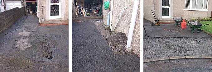 Tarmac driveway resurfacing in Swansea